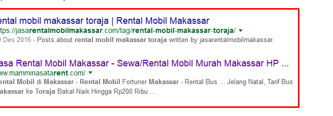 Alamat Jasa Rental Mobil Makassar