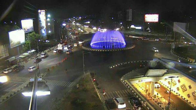 Simpang 5 bandara sultan hasanuddin Makassar